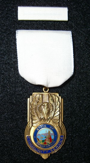 Community Service Award Picture