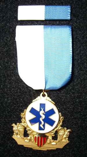 Inter-Service EMS Recognition Medal Picture