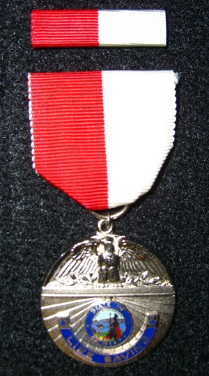 Lifesaving Medal Picture